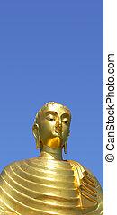 Golden Buddha (isolated)