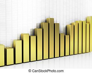 Golden business graph