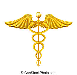 Golden Caduceus