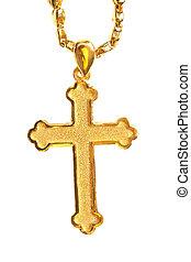 golden christian crosses
