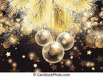 golden christmas background 0308