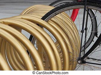 Golden Circle Bicycle Mount Urban Rack Closeup