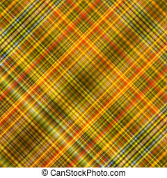 Golden colors squares diagonal lines abstract mosaic background.