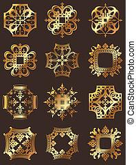 Golden Crown Symbols