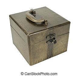 Golden Cube Box