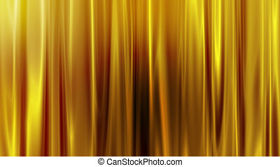 Beautiful and shiny golden curtain background.