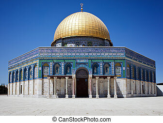Golden dome of Jerusalem