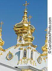 royal castle - golden domes of the royal castle
