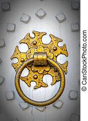 Golden Door Knocker vignette