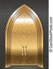 Golden door of the Palace