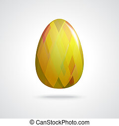 Golden Easter Egg