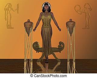 Golden Egyptian Princess