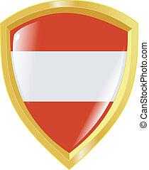 golden emblem of Austria