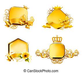 Golden Emblem, set 10eps