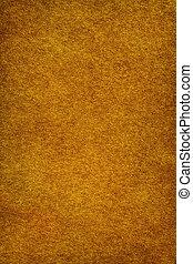 Golden felt background