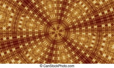golden festive abstract background