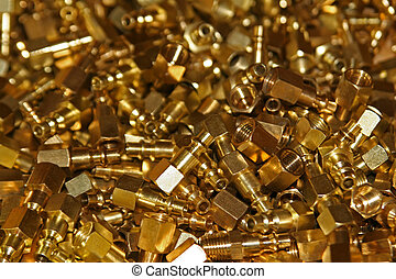 Golden Fittings - Case of air chuck fittings for sale at...