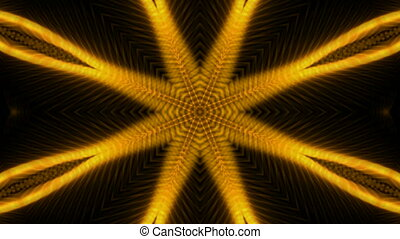 golden flower pattern,sunlight