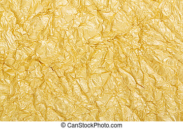 Golden foil background texture