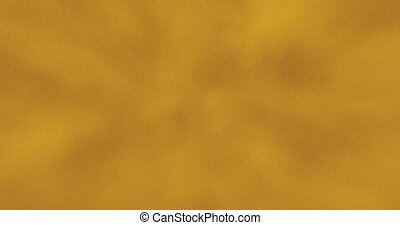 Golden foil background with copy space. Backdrop for company logo, new year events design, festivals, ceremony. Gold texture pattern. 3D rendering animation. Seamless loop 4k video