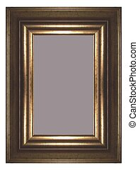 Golden frame - a golden frame