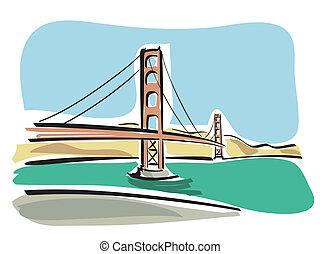 (golden, gate), サンフランシスコ