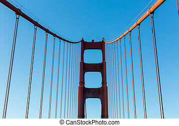 Golden Gate Bridge at daytime