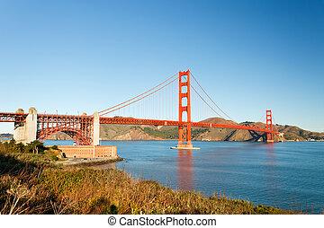 Golden Gate Bridge at morning, San Francisco