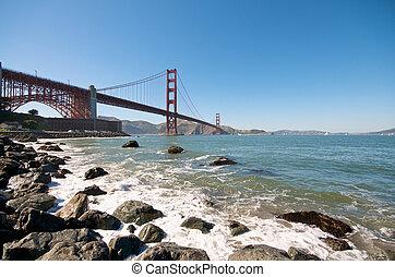 Golden Gate Bridge Beach in San Francisco