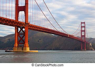 Golden Gate Bridge in San Francisco