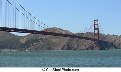 Golden Gate Bridge San Francisco Bay California - San...
