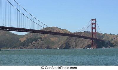 Golden Gate Bridge San Francisco Bay California