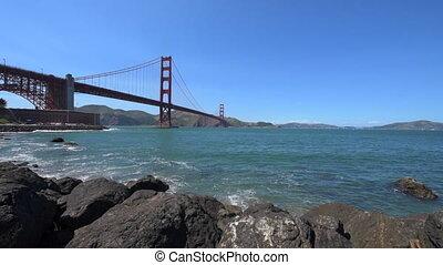 Golden Gate Bridge San Francisco Dolly Shot