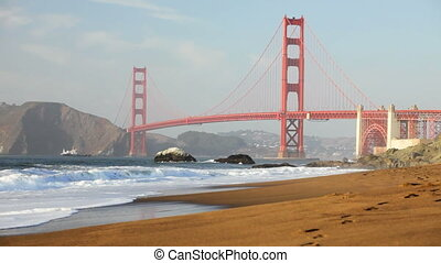 Golden Gate Bridge - View of the Golden Gate Bridge from...