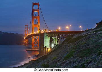 Golden Gate Bridge. - Golden Gate Bridge in San Francisco...