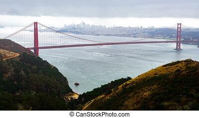 Golden Gate Bridge Time-lapse