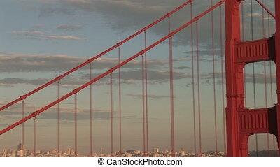 Golden Gate Bridge, View of San Francisco