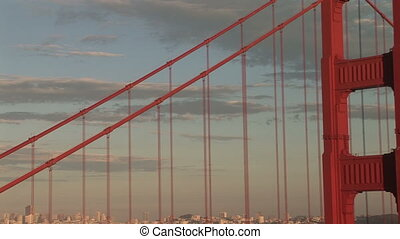 Golden Gate Bridge, View of San Francisco