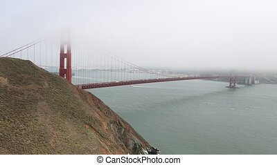 Golden Gate Bridge Vista Point - Golden Gate Bridge from...
