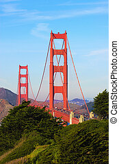 Golden Gate from San Francisco