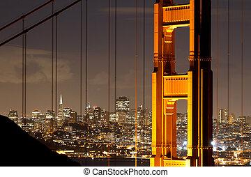 Golden Gate - golden gate bridge, san francisco