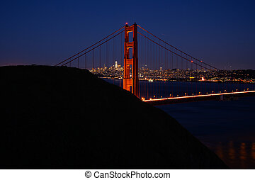 Golden Gate North Tower and Marin Headlands