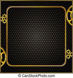 golden gear frame
