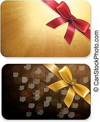 Golden Gift Cards