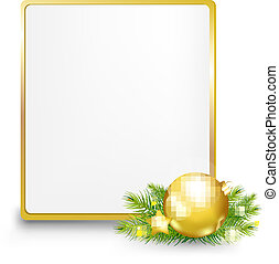 Golden Gift Tag