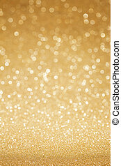 Golden glitter abstract background - Golden glitter...