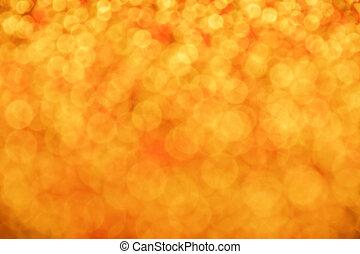 Golden glitter light christmas abstract blur background