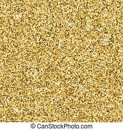 Golden glitter pattern. Vector glitter texture for flyer,...