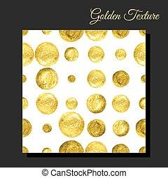 Golden glitter seamless background