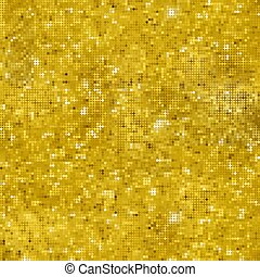 Golden Glitter Seamless Pattern Texture